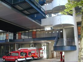 Caserne de pompiers de Ménilmontant (Paris)